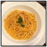 シチリア - 渡り蟹のトマトクリーム
