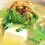 バロンズグリルアンドエルディーケー バロン - あったか鶏豆腐