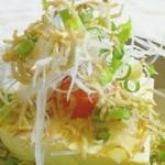 バロンズグリルアンドエルディーケー バロン - 明太じゃこ豆腐