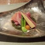 19617307 - 前菜 イベリコ豚の生ハム