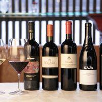 SAGRA - ワインは豊富な種類を取り揃える。