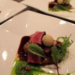 レストラン CAPTAIN - 料理写真:山口宇部牛(黒毛和牛)のポアレ
