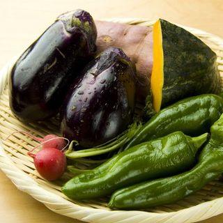 京野菜や新鮮魚介を中心にしたお料理をご提供。