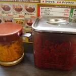 印度屋 - お漬物と福伸漬け