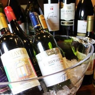 お肉に合うワイン、多数ご用意しております!