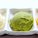 炭火焼肉ひばち - アイス盛り合わせ