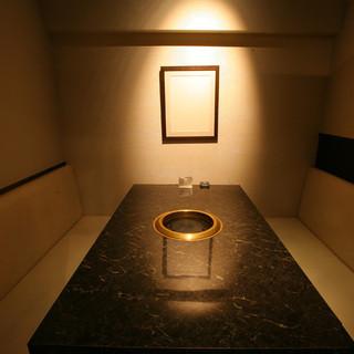 最大10名様までの宴会に最適な個室空間。