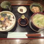 海の味 有福 - 小柱丼定食