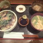 海の味 有福 - イワシの炙り丼定食