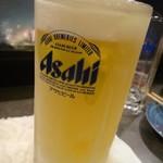 鳥辰 - ドリンク写真:キンキンのビールビョッキ!!大好物です!!!
