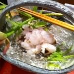 高瀬 - 熊本天草の大ぶりな鱧が美味しくなってまいりました。