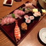 味家 - にぎり 大名寿司(3,700円)2013年6月