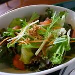 ザ バルーンマーケット - セットのサラダ