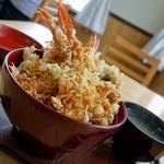 あさり浜 - エビ天丼 1,050円
