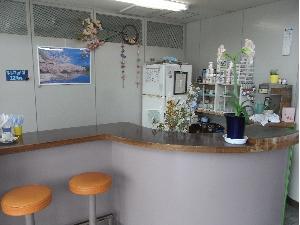 新島飛行場内喫茶店