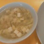 Choujouhanten - 130604神奈川 長城飯店 スープ(サービス)