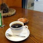 カフェ珈人 - ブレンドコーヒー