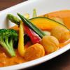 Jiasurukuandotari - 料理写真:大人気の帆立貝柱のスープカレー!ぷりぷりの帆立と道産野菜が、ぎっしりと!