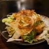 法善寺横丁 やき然 - 料理写真:1980円のセットのサラダ