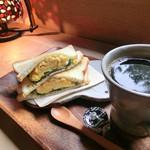 くるみのもり - 料理写真:ホットサンドセット