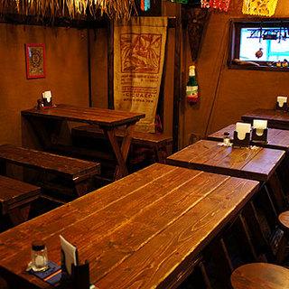 本場メキシコの酒場をイメージしたメキシカンバル♪