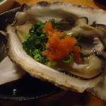 上総屋 眞吉 - 京都の天然岩牡蠣。
