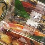 京粕漬 魚久  - 色々入っていますので家族で取り合いにならぬようにしなくては・・・(笑)