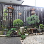 19642264 - 店内からお庭の風景