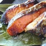 京粕漬 魚久  - 私は鯖、鮭、銀だらを選びました