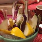 スパイラル - 鎌倉野菜のこだわりバーニャカウダ M 1,300円