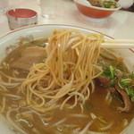 タケちゃんラーメン - 麺アップ