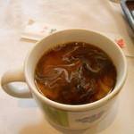 湘南菊華大飯店 - ホットコーヒーはセルフで無料