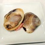仙川寿司 - 焼きハマグリ