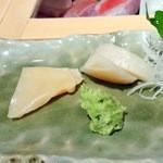 仙川寿司 - ミル貝、タイラ貝