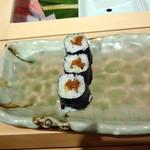 仙川寿司 - サビ入りかんぴょう巻