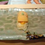 仙川寿司 - ウニ塩