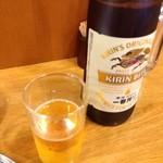 19649368 - 「キリン一番搾り大瓶」530円