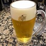 海鮮三崎港 - エビス生ビール