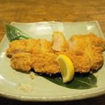 塩梅 - 料理写真:2013.6 特上ロースカツ定食(2,100円)のロースカツ