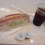 19652369 - カスクート ハムチーズ260円+アイスコーヒー290円=550円