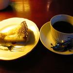 cafe 螢明舎 - タルトとロアブレンド