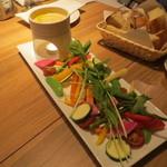 19655907 - 野菜のバーニャカウダ