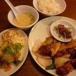 牡丹江 - 酢豚ランチ