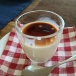マレビトコーヒー - パンナコッタ