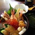 寿し処光本 - 特海鮮丼¥1680
