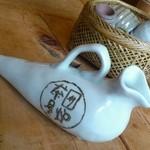 囲炉茶屋 - ハトが来ましたよ鼠先輩!