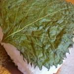 囲炉茶屋 - 山葵味噌の焼きおにぎり♪