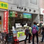 19659674 - 武蔵小山商店街PALM内、学生服タケヤの店先