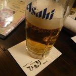 焼鳥ダイニング ひねり - とりあえずビール