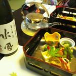 懐石宿水鳳園 - 前菜